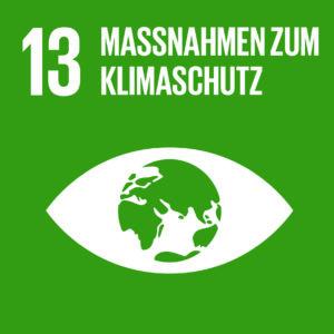 Sustainable Development Goals SDG 13 Maßnahmen zum Klimaschutz